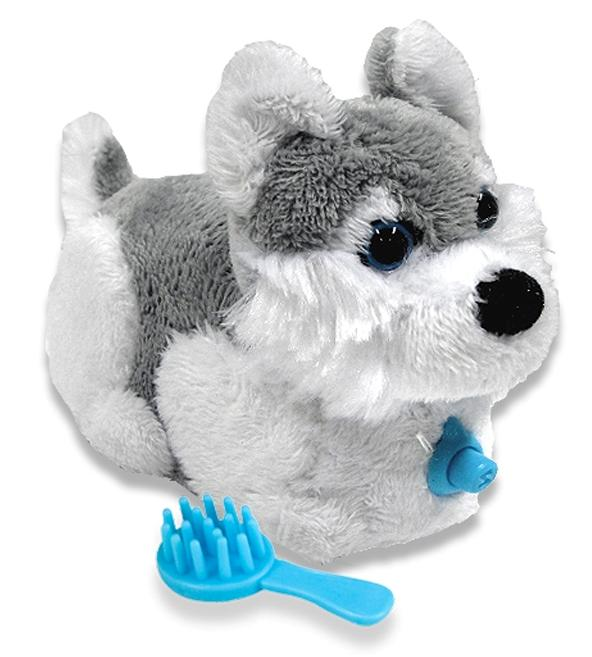Chien-gris Puppies: Chien Gris Zhu Zhu Puppies Chien Electronique Serie Dakota Blanc Et Gris Breed