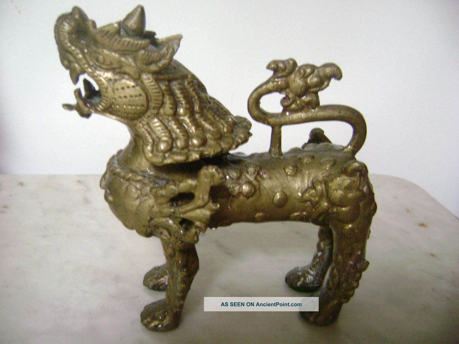 Chinese Imperial Dog: Chinese Vintageasianchineseimperialfufoodogliondragonbrass Breed