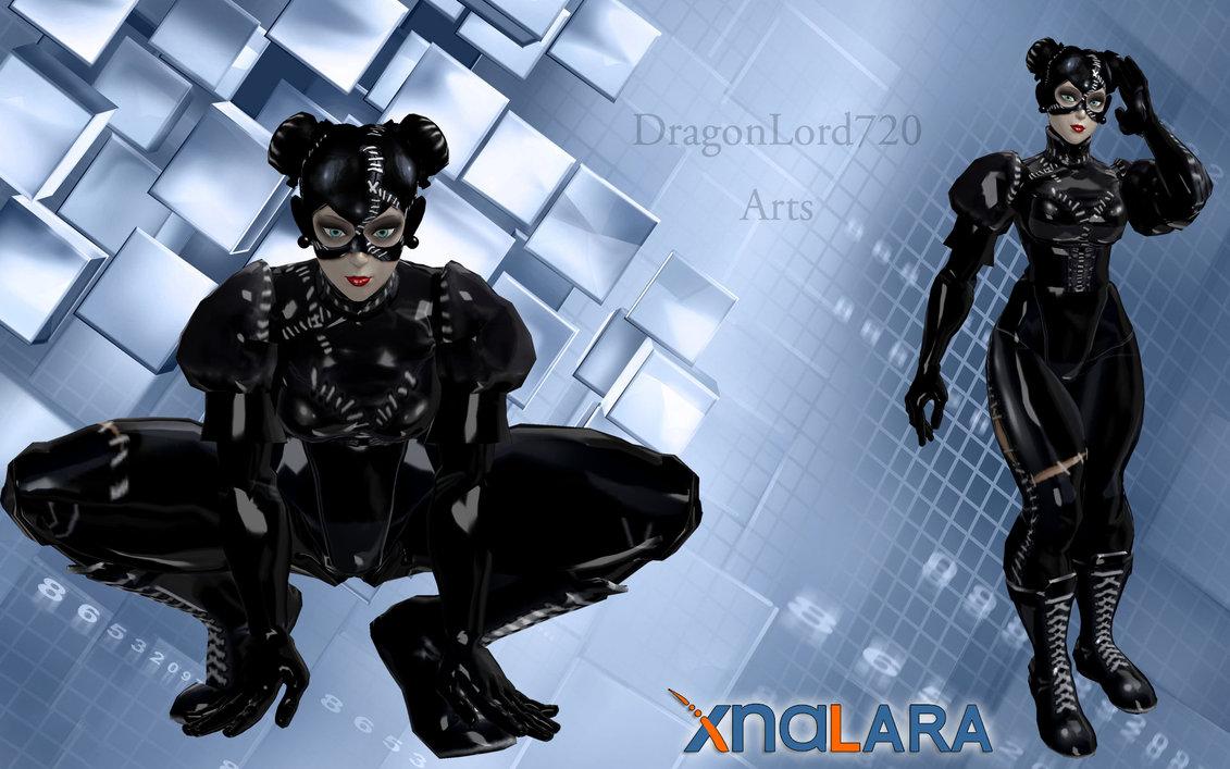 Dragon Li Cat: Dragon Chun Li Cat Woman Breed