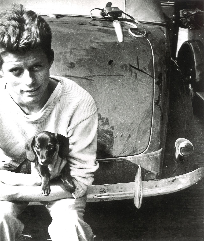 Dunker Dog: Dunker John F Kennedy With His Dog Dunker Breed