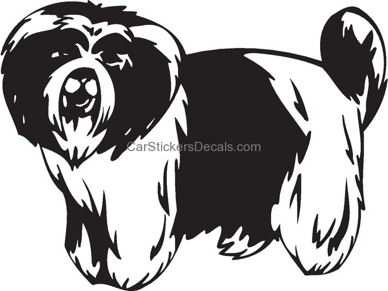 Kyi-Leo Dog: Kyi Leo Kyi Leo Dog Sticker Breed