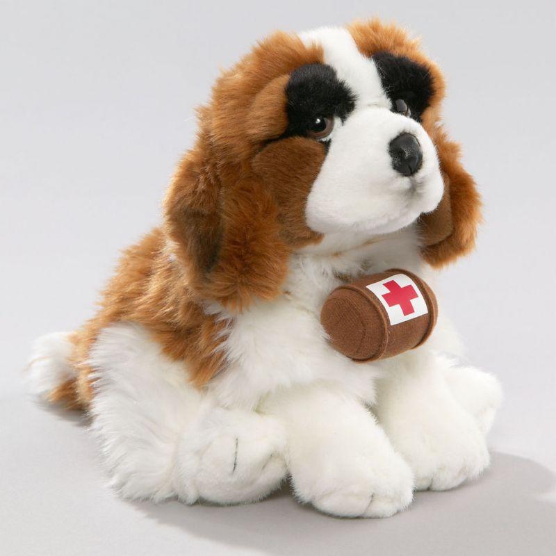 St. Bernard Dog: St. St Bernard Dog With Barrel Breed