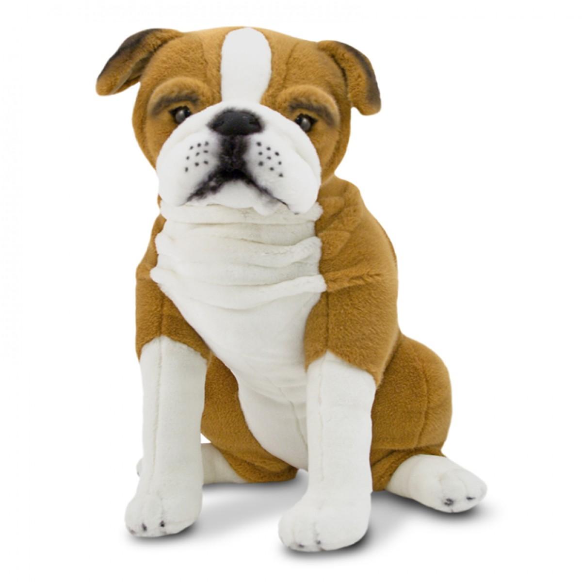 Toy Bulldog Dog: Toy Melissa Doug English Bulldog Plush Soft Toy Breed