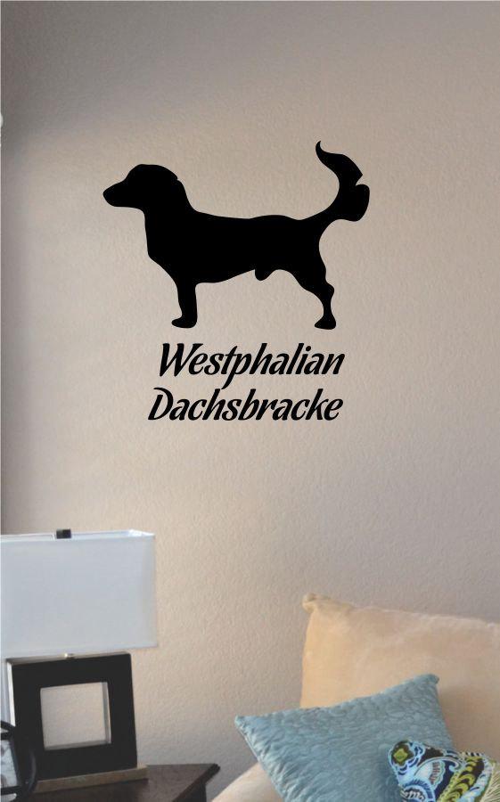 Westphalian Dachsbracke Dog: Westphalian Slap Art Westphalian Dachsbracke Dog Breed
